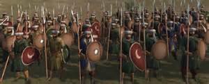 Piyade units spear formation