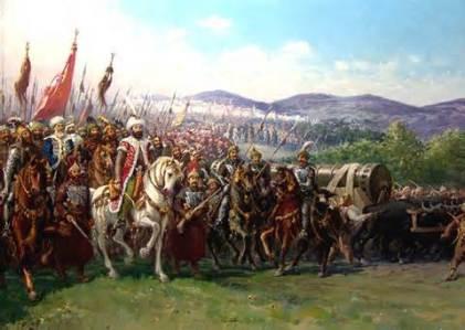 full scale Ottoman army