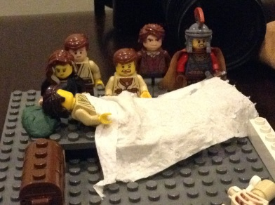 Germanicus' deathbed in Leg