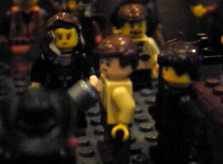 Claudius at Germanicus' funeral