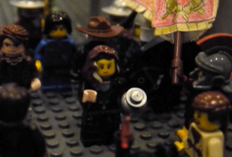 Lego Agrippina at Germanicus' funeral