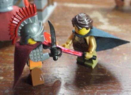 Germanicus and Ingomer duel (Lego)