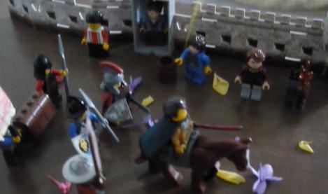 Germanicus' triumphal parade in Lego
