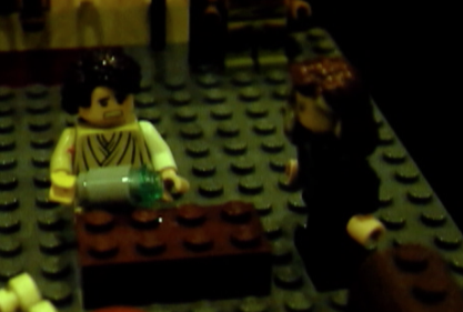 Death of Germanicus in Lego