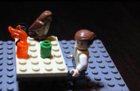 Claudius Caesar in Lego narrates the story