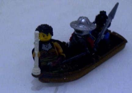 Lego Germanicus setting sail