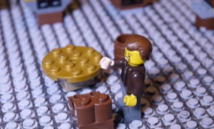 Piso's trial in Lego