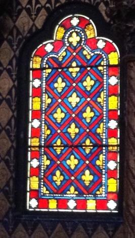 Original design from the Sainte-Chapelle, Paris