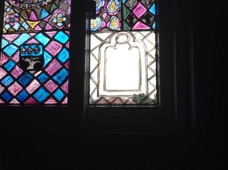 Full outline of the window