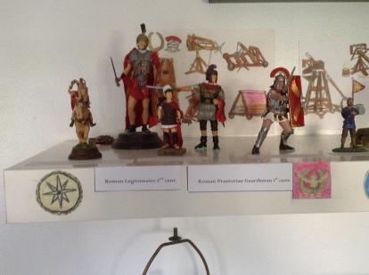 Macedonian Cavalryman, Roman Legionnaire, Praetorian Guardsman, Roman Auxiliary, Roman Centurion figures