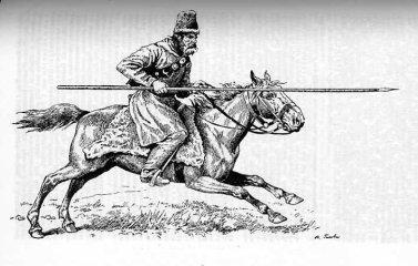 Cossack thrusting