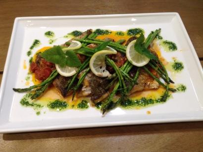 Sea Bass at Pio's Kitchen