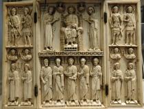 Byzantine ivory carvings