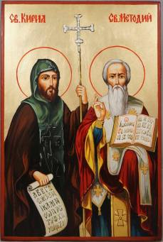 St. Cyril and St. Methods, apostles to the Slavs