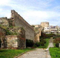 Byzantine walls, Thessaloniki