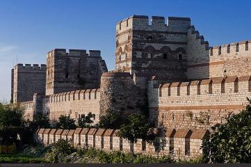 Byzantine walls, Constantinople