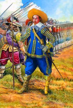 Swedish regiment commander