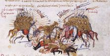 Cataphracts depicted in the Madrid Skylitzes
