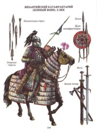 Byzantine Cataphract with weapons set