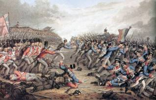 Battle of Waterloo: Coalition vs French Empire (1815)