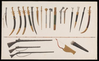 Ottoman melee weapons and firearms