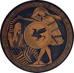 Greek vs Persian in Ancient Greek pottery