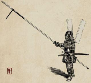 Samurai pikeman