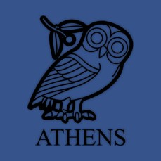 Flag of Athens