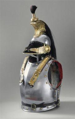 Cuirassier armor and helmet