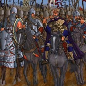 Byzantine Emperor and the Cataphracts