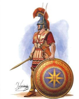 Macedonian Hoplite variant