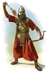Roman Archer in Lorica Squamata