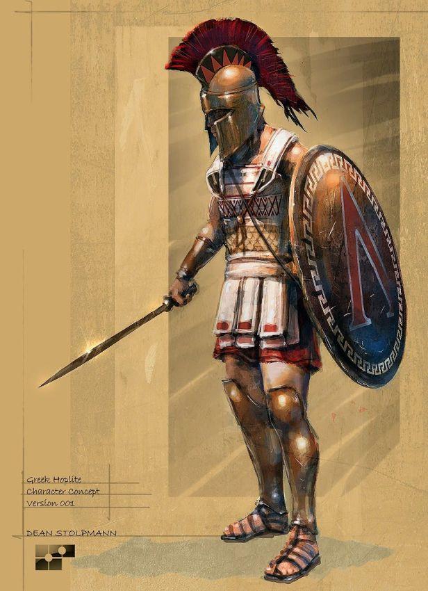 Spartan Hoplite variant