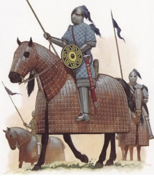 A Cataphract cavalry unit