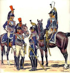 French Cuirassier variants
