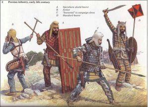Persian Immortal variants