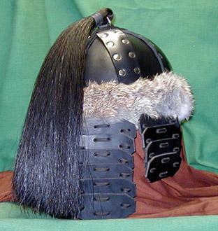 Mongol helmet variant