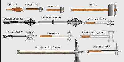 Knight's heavy weapons
