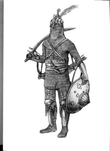 Ottoman Sipahi soldier