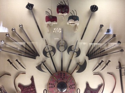 Ottoman weaponry set