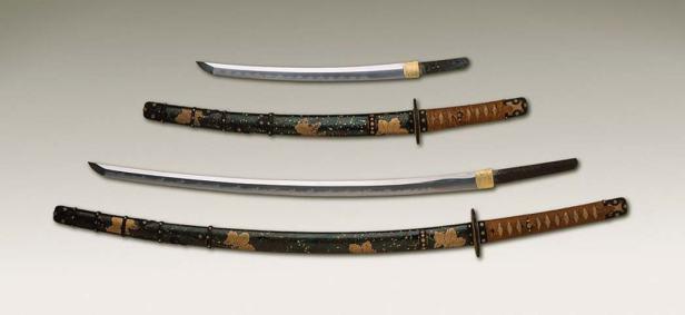 Katana and Wakizashi blades