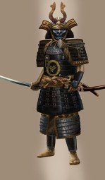 Samurai warrior's armor