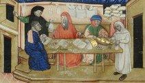 Venetian merchants in Byzantium