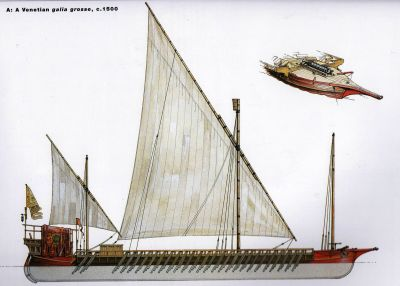 Venetian warship
