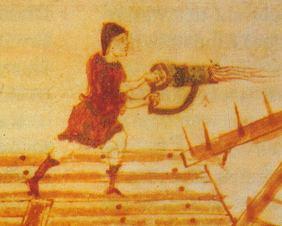 Handheld flamethrower (Cheirisiphon)