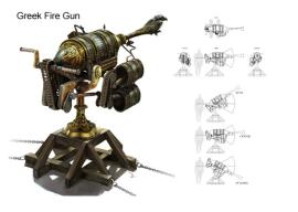 Greek Fire gun recreation