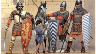 Byzantine soldiers recruited from each Theme