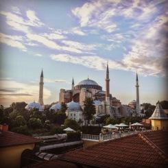 The Hagia Sophia today