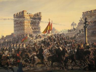 The Siege of Constantinople, 1453