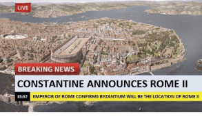 """Constantinople, the """"New Rome"""""""